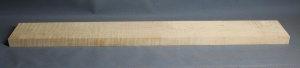 Curly maple guitar neck blank type F medium figure number 5