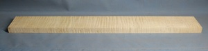 Curly maple guitar neck blank type F strong figure slab cut