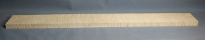 Curly maple bass guitar neck blank type FB strong figure slab cut