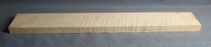 Curly maple guitar fingerboard medium figure