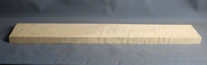 Curly maple guitar neck blank type F medium figure number 44