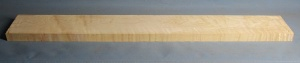 Curly maple guitar neck blank type F medium figure number 12
