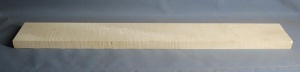 Curly maple guitar neck blank type F medium figure number 14