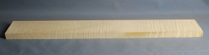 Curly maple guitar neck blank type F medium figure number 17
