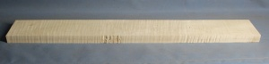 Curly maple guitar neck blank type F strong figure number 26