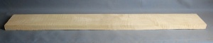 Curly maple Bass guitar neck blank type FB medium figure number 81
