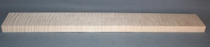 Curly maple guitar neck blank type F medium figure number 9