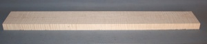Curly maple guitar neck blank type F strong figure number 24