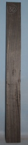 African Coloured Ebony sawn board no 30