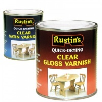 Rustins Gloss Acrylic Varnish 500ml 1 litre