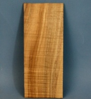 Rippled koa head veneer