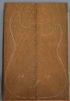 Wenge guitar top number 110 type 'B'