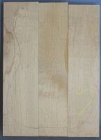 Alder three piece body blank no 18