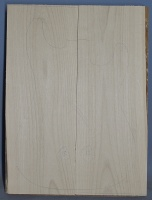 Alder two piece body blank no 13