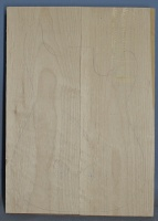 Alder two piece body blank no 14