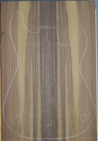 Indian rosewood guitar top number 100 type 'B'