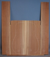 American black walnut guitar back and sides set number 16