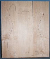 Alder three piece body blank no 12