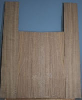 American black walnut guitar back and sides set number 38