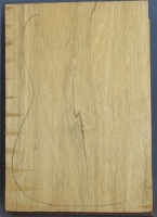 White limba single piece body blank select grade number 2, 43mm thick