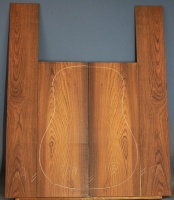 Honduras rosewood guitar back and sides set number 100