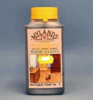 Mylands Acrylic Waterstain Antique Pine 250ml