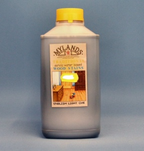 Mylands Acrylic Waterstain Light Oak 1 litre